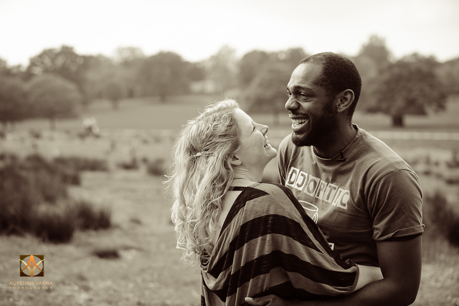 engagement photography in richmond park with deer (4)