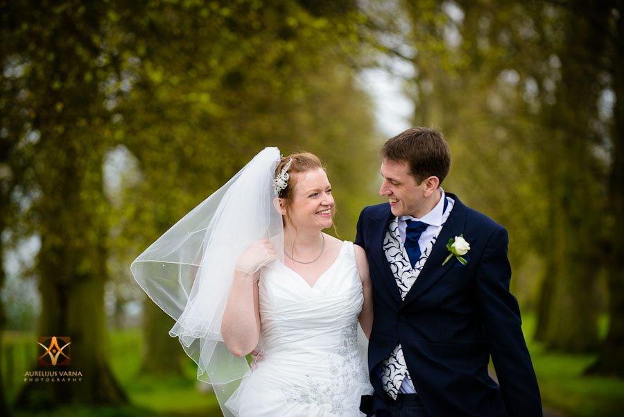 wedding photography at Rothampstead Manor spring wedding (14)
