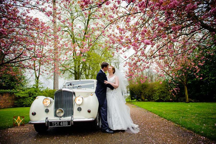 wedding photography at Rothampstead Manor spring wedding (1)