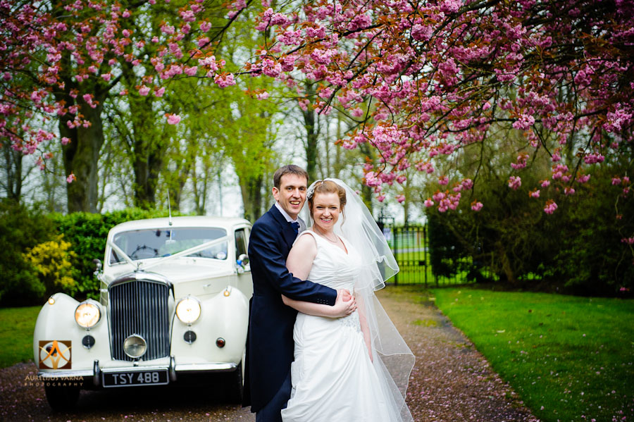 wedding photography at Rothampstead Manor spring wedding (21)
