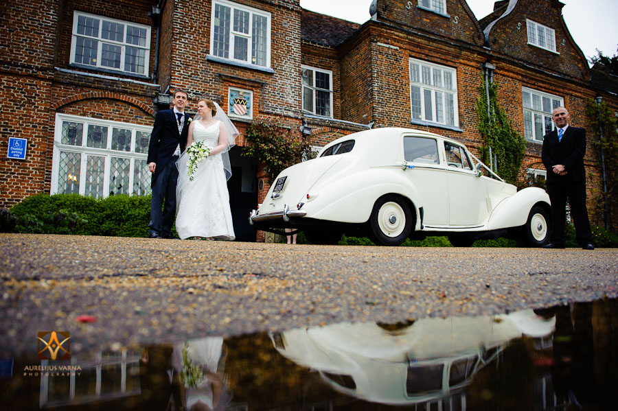 wedding photography at Rothampstead Manor spring wedding (24)