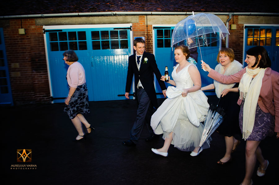 wedding photography at Rothampstead Manor spring wedding (42)