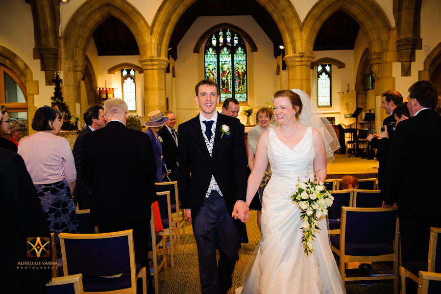 wedding photography at Rothampstead Manor spring wedding (8)