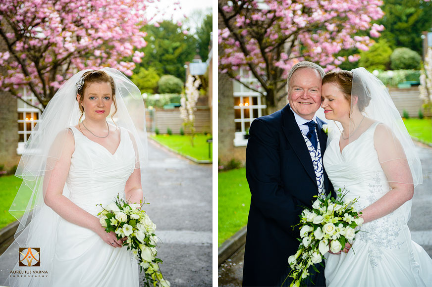 wedding photography at Rothampstead Manor spring wedding (4)