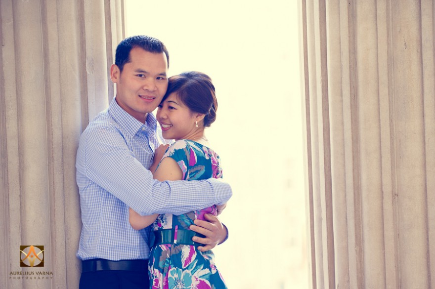 wedding and engagement photography at St Pauls, london