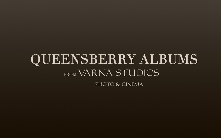 best wedding albums queensberry albums from Varna Studios