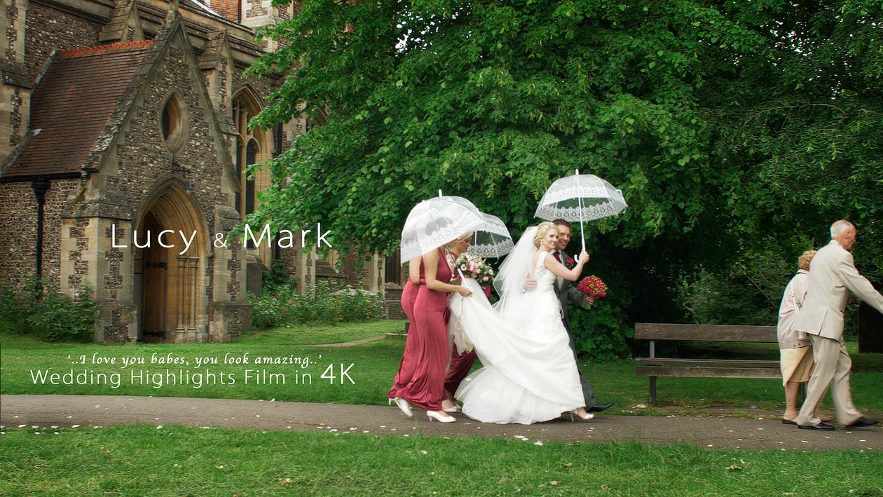 filming wedding in UHD