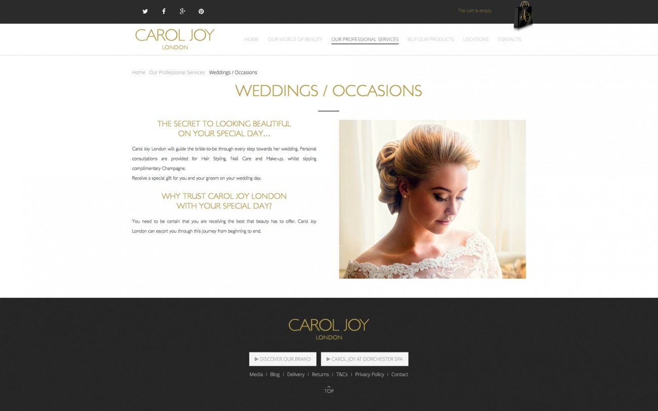 carol joy london luxury service