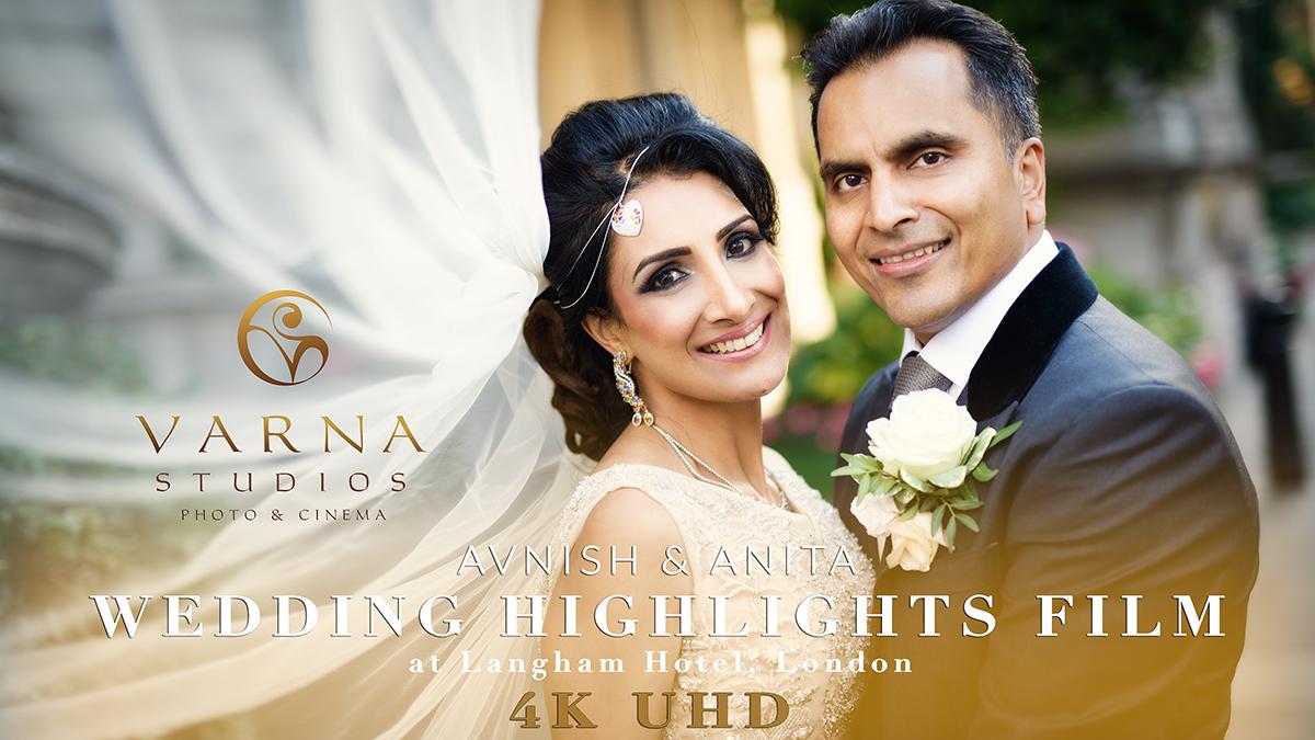 asian wedding film Langham UHD