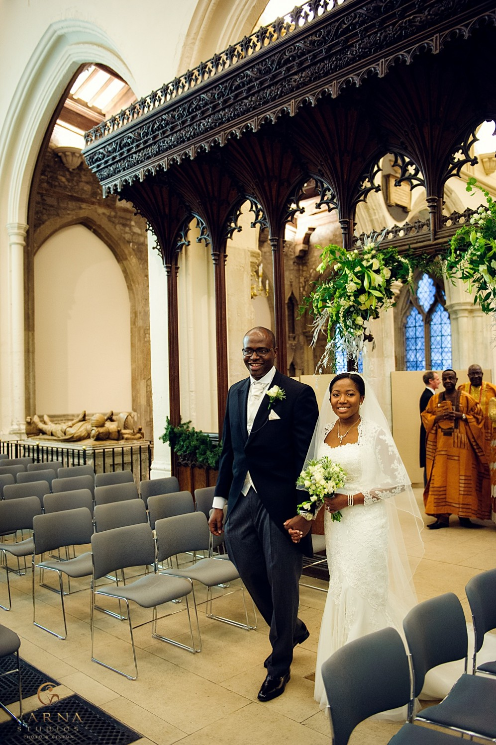 Luxury african wedding photographer in London (52)