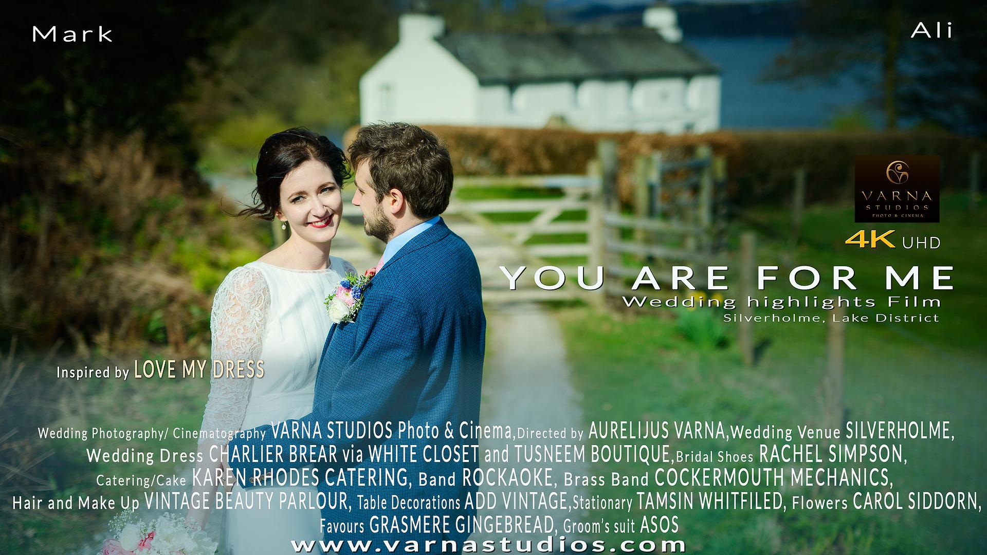 love my dress wedding videographer